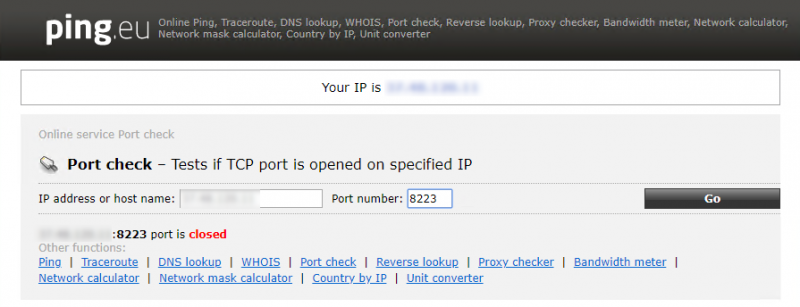 Tcp Port Number For Ping How to perform TCP PING with IP